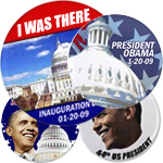 Authorized Inauguration Day Buttons