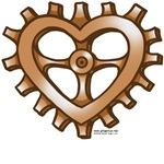 Heart-Shaped Gear