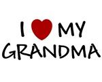 I LOVE MY GRANDMA SHIRT I HEART MY GRANDMA ONSIE B