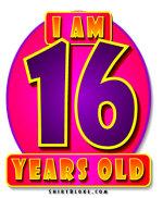 16th Birthday Gear & Gifts.