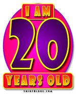 20th Birthday Gear & Gifts
