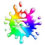 Splat Rowing - Rainbow