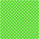 Green With White Polka-dots