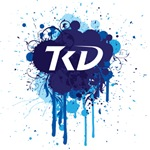 TKD Splatter Blue