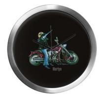 <b>Clocks, Tiles, Flasks, Ornaments & Shot Glasses