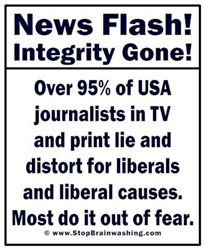 Journalists lost integrity