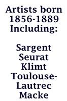 ArtzWithArtist Born 1856-1889