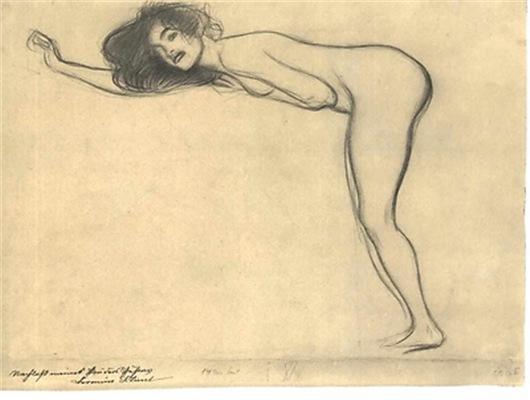 Klimt - Sketch #2