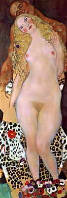 Klimt - Adam & Eve