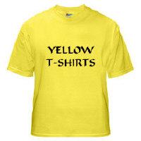 YeshuaWear.com Yellow T-Shirts