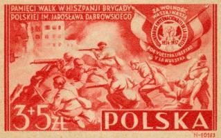 1946 Polish Volunteers in Spain