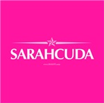 Sarahcuda Pins & Stickers in Hot Pink