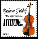 STAMPS: Music Violin Fiddle