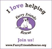 I love helping Furry Friends Rescue