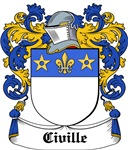 Civille Coat of Arms, Family Crest