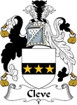 Cleve Family Crest
