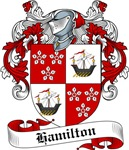Hamilton Family Crest, Coat of Arms