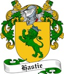 Hastie Family Crest, Coat of Arms