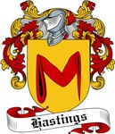 Hastings Family Crest, Coat of Arms
