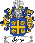 Barone Family Crest, Coat of Arms