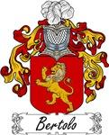Bertolo Family Crest, Coat of Arms