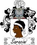 Saracini Family Crest, Coat of Arms