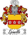 Spinello Family Crest, Coat of Arms