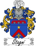 Stagni Family Crest, Coat of Arms