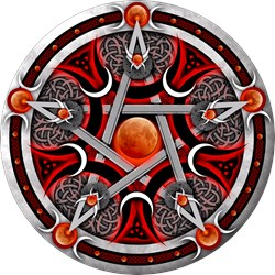 Pentacle of the Red Moon