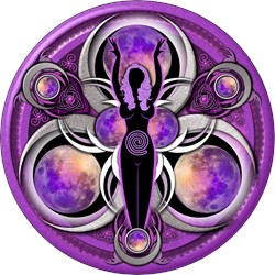 Goddess of the Purple Moon