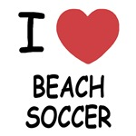 I heart beach soccer