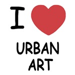 I heart urban art