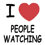 I heart people watching
