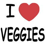I heart veggies