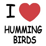 I heart hummingbirds