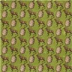 Reindeer And Pine Cones