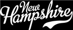 New Hampshire Script White