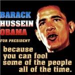 Obama because...