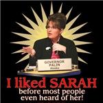 I liked Sarah