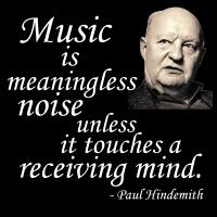 Hindemith on Music & Noise