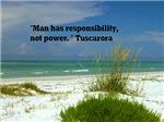 Man has responsibility