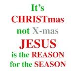 Christmas not XMAS