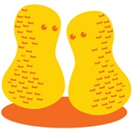Two little peanuts