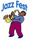 Jazz Fest Sax
