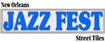Jazz Fest Street Tiles