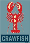 Crawfish In Red and Blue