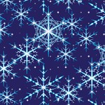 Twilight Snowflakes Stars