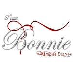 Team Bonnie The Vampire Diaries Raven Ribbon