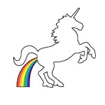 Unicorn Rainbow Poo
