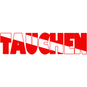 Tauchen German Scuba Flag